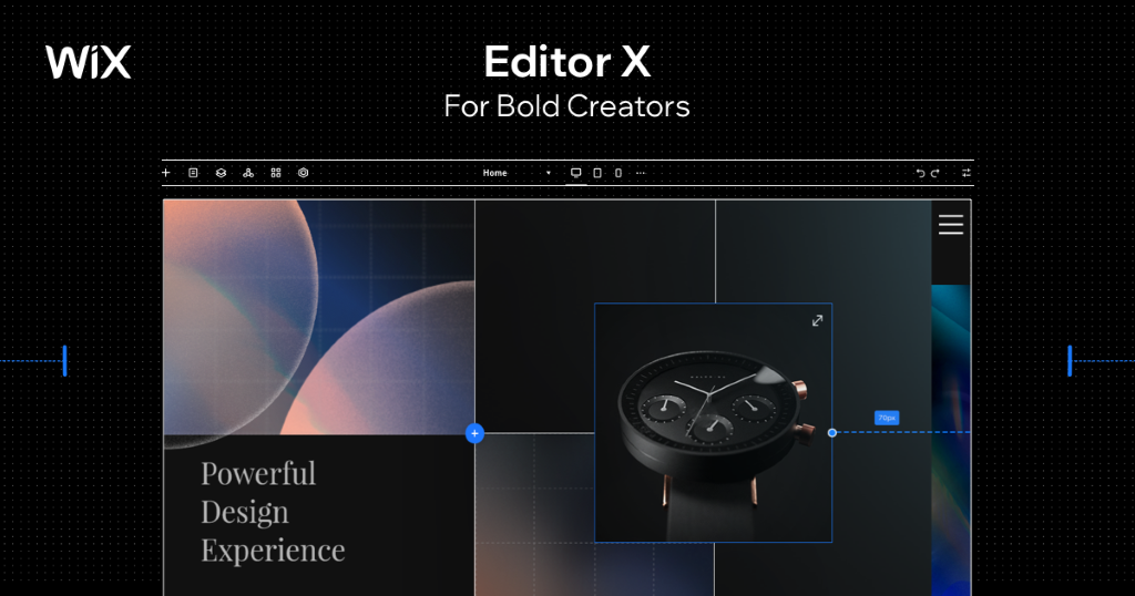 Wix Upgrades Website Creation with Editor X